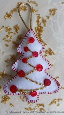 Want to know more about DIY Christmas Ideas Felt Christmas Decorations, Christmas Ornament Crafts, Felt Crafts, Handmade Christmas, Holiday Crafts, Christmas Crafts, Christmas Ideas, Felt Ornaments Patterns, Christmas Sewing Projects