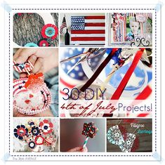 30 DIY 4th of July Projects!  the36thavenue.com #4thofjuly #holidays