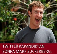 Twitter kapandıktan sonra Zuckerberg
