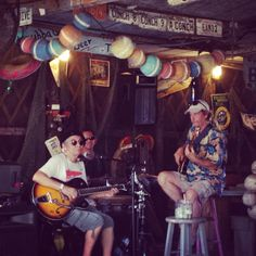 Jazz N Blues in Key West #conch