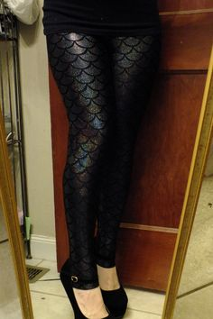 Plus Size Mermaid Leggings