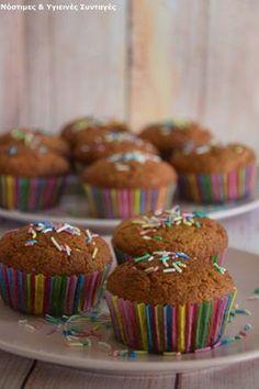 Muffin πορτοκαλιού χωρίς βούτυρο, ζάχαρη, αυγό και μίξερ - Miss Healthy Living