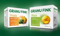 GRANU FINK®  – design by www.switch-design.de Drug Packaging, Medical Packaging, Cosmetic Packaging, Beauty Packaging, Product Packaging, Herbal Oil, Layout Template, Packaging Design Inspiration, Herbalism