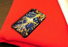 Van Gogh Exploded Tardis iPhone 4 4S Case Dr Who by caseboy, $15.79
