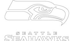 seahawks logo circle coloring pages - photo#3