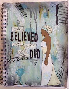 Art Journal She Did