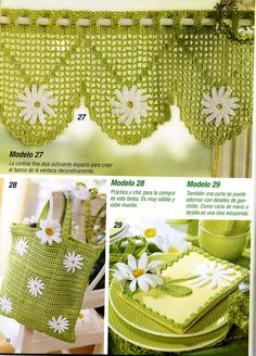Bag curtains  whole kitchen set