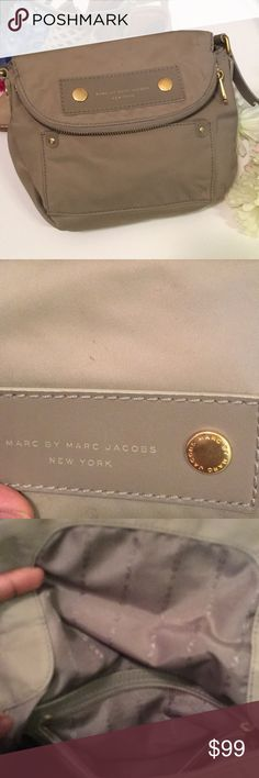 Marc by Marc Jacobs Nylon Natasha Crossbody This EUC is really remarkable it does have a tiny pen mark pictures shown but other gam that is bag is almost like new!!! Marc By Marc Jacobs Bags Crossbody Bags