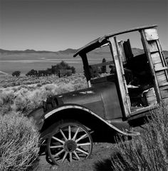 """""""Abandoned"""" by Hugh Weaver. This is part of his Nevada series. Clicking on the picture will take you to his website. He has some other wonderful black and white photography in his galleries."""