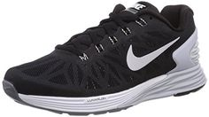 Nike Womens Lunarglide 6 Running Shoe 9 Black -- Check out the image by visiting the link.
