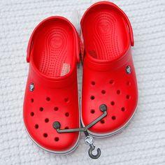 CrocbandCrocs Red 8 UK 41 42 EU Unisex Casual Flat NWT