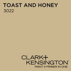 Siama's choice for dining room: Toast and Honey 3022 by Clark+Kensington Can't decide between camel or greige. is this too gold?