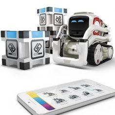 Purchase your Cozmo real-life robot from our online store. The smartest, cutest AI-powered robot have ever seen! Wall E, Cozmo Robot, Tween Boy Gifts, Robot Programming, Best Baby Toys, Games For Boys, Robots For Kids, Kids Toys, Smart Robot