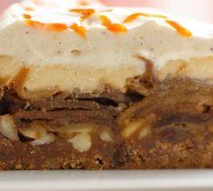Bakeprosjektet Spesial - Bakeprosjektet Caramel Apple Cheesecake, Cheesecake Pie, Caramel Apples, Food And Drink, Baking, Desserts, Caramel, Bread Making, Cheesecake