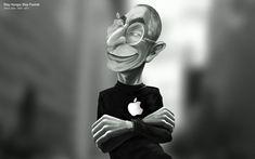 Illustration - Steve Job | Mac  Notable ! @GonzaSepu