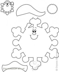 Поделка изделие Новый год Бумагопластика Вырезание Живые снежинки Картон Картон гофрированный Клей Пряжа фото 3