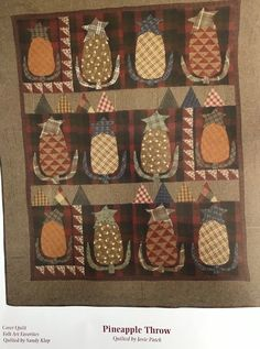 Primitive Quilts, Primitive Patterns, Meteor Shower Tonight, Pineapple Quilt, Susan Smith, Cookie Company, Country Quilts, Have A Good Weekend, Red Wagon