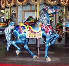 1915 PTC #35 Carousel at Six Flags St. Louis Eureka, MO