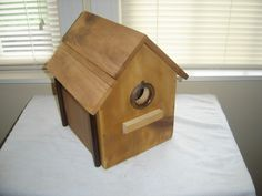 basic pole birdhouse