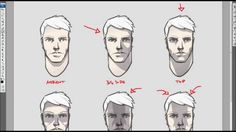 Drawing Tutorial #1 - Cel Shading a Face