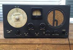 Vintage-1950-039-s-Hallicrafters-Sky-Buddy-Shortwave-Tube-Radio-EXC-COND