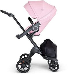 Stokke Xplory Black Chassis Stroller with Black Leatherette Handle, Lotus Pink - Sturdy and works, what more do you need?This Stokke that is ranked 170532 in Poussette Yoyo Babyzen, Chaise Tripp Trapp, Knorr Baby, Chip And Joanna Gaines, Travel System, Small Baby, Big Baby, Athleisure, Baby Car Seats