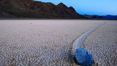 11 One-of-a-Kind Destinations in National Parks. Seen here: The Racetrack at Death Valley National Park. Beautiful World, Beautiful Places, West Coast Road Trip, Death Valley National Park, National Parks Usa, Nature Photos, Explore, Weird, Abstract