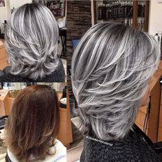 "739 Likes, 8 Comments - FRAMAR (@framarint) on Instagram: ""Sexy Silver Smoke Transformation @jackmartincolorist"""