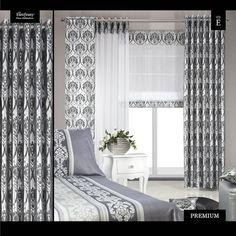 Valances, Valance Curtains, White Curtains, Window Treatments, Windows, Black And White, Design, Home Decor, Houses