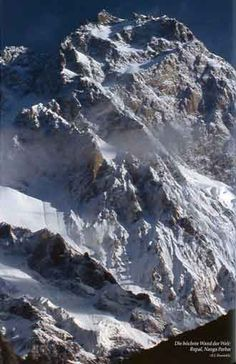 Nanga Parbat Rupal Face - highest mountain face in the world - scary