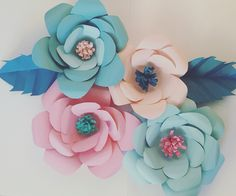Paper Flowers #Celebr8Everything