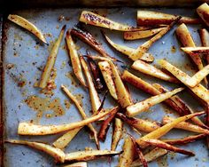 Some parsnips can have a woody core, which you'll want to cut away before cooking.
