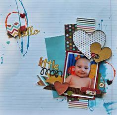 Little Man - Scrapbook.com