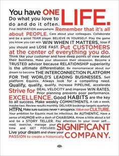 Equinix Sales Manifesto