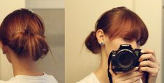 Simple Updo Hairstyle | Sara Lynn Paige PhotographySara Lynn Paige Photography