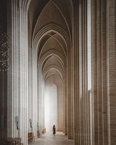 Grundtvig's Church in Copenhagen is an extraordinary example of expressionist architecture. Jensen-Klint, the architect, spent some time… Architecture Artists, Colour Architecture, Revival Architecture, Historical Architecture, Beautiful Architecture, Architecture Details, Interior Architecture, Copenhagen Design, Perspective Photography
