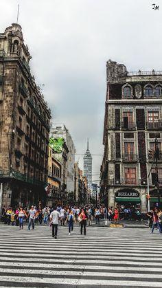 Calle de Madero México DF