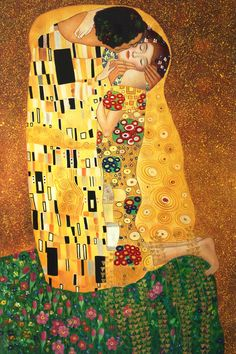 Museum Quality The Kiss by Gustav Klimt Master Oil Painting on Canvas Wall Art Painting Abstract Canvas Pictures Gustav Klimt, Klimt Art, Cheap Wall Art, Mein Style, Oil Painting Abstract, Painting Clouds, Abstract Canvas, Oil Paintings, Famous Art