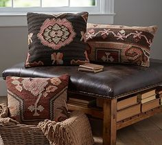 Dabney Kilims  Pillow Cover Set of 3 #potterybarn