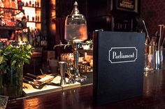 Long Live Parliament, Lucky Campbell's New Cocktail Bar - Opening Report - Eater Dallas