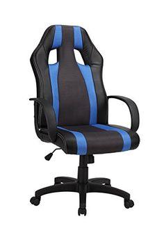 1home Adjustable Swivel Reclining PU High Back Office Chair Ergonomic Computer Chair