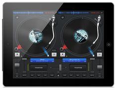 podDJ dla iPada - podwójny deck dla deejay'ów.