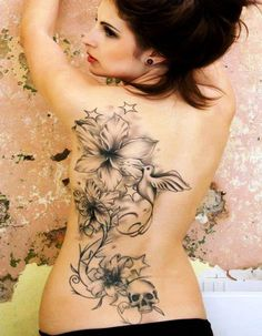 Amazing Back Tattoo Ideas For Women