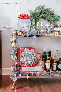 House Of Chic, Tacky Christmas Sweater, Bar Cart Styling, Tropical Style, For Your Party, Festival Party, Merry And Bright, Tis The Season, Create Your Own