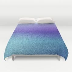 Blueberry Icy Print Duvet Cover by KCavender Designs - $99.00 #Duvet #Cover #Bedding #Bedroom #Decor By #KCavenderDesigns