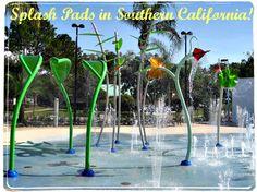Summer Fun: Splash Pads in Southern California! #splashpads #waterparks