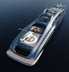 Sovereign, 100 m designed by Swedish firm Gray Design