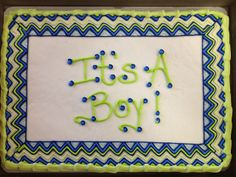 Boy Baby Shower Sheet Cake Chevron | Recent Photos The Commons Getty  Collection Galleries World Map