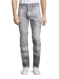 DSQUARED2 Slim Fit Ultra Modern Jeans. #dsquared2 #cloth #jeans