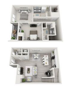 Curiosity got the best of you? You can check out all #500HI floorplans online at gables.com/500HI. How would you like to call this 1,205 square foot, 2-story, 2-bedroom home? #500HI http://www.500harbourisland.com/